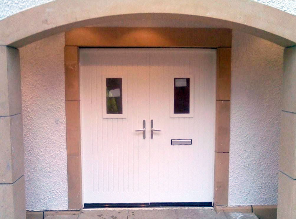 Gallery for Insulated double doors