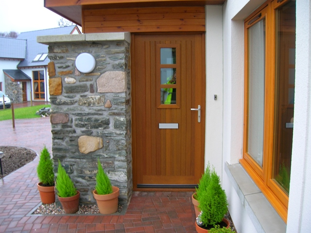 Hardwood Insulated External Door Sets