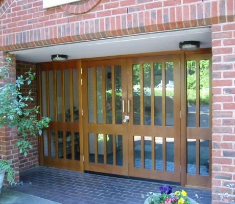 Common Entrance Doors